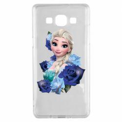 Чохол для Samsung A5 2015 Elsa and roses