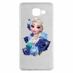 Чохол для Samsung A5 2016 Elsa and roses