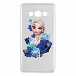 Чохол для Samsung A7 2015 Elsa and roses