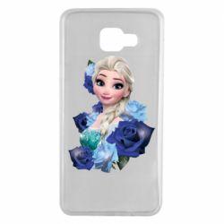 Чохол для Samsung A7 2016 Elsa and roses