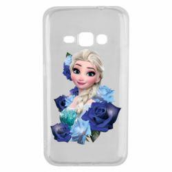 Чохол для Samsung J1 2016 Elsa and roses