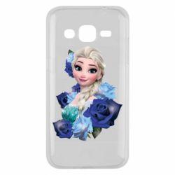 Чохол для Samsung J2 2015 Elsa and roses