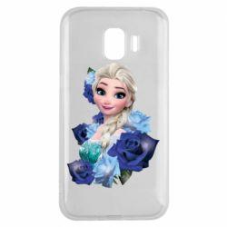Чохол для Samsung J2 2018 Elsa and roses