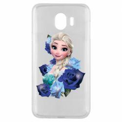 Чохол для Samsung J4 Elsa and roses