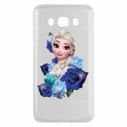 Чохол для Samsung J5 2016 Elsa and roses