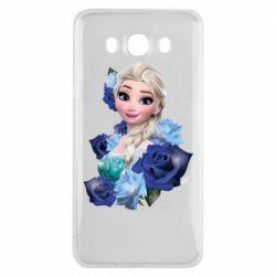 Чохол для Samsung J7 2016 Elsa and roses