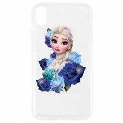 Чохол для iPhone XR Elsa and roses