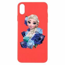 Чохол для iPhone Xs Max Elsa and roses