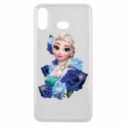 Чохол для Samsung A6s Elsa and roses