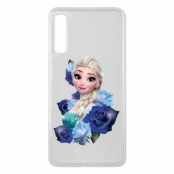 Чохол для Samsung A7 2018 Elsa and roses