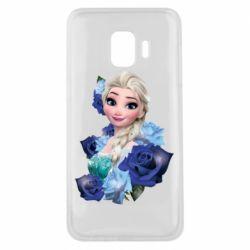 Чохол для Samsung J2 Core Elsa and roses