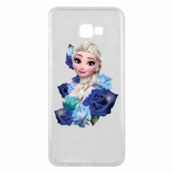 Чохол для Samsung J4 Plus 2018 Elsa and roses