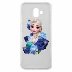 Чохол для Samsung J6 Plus 2018 Elsa and roses