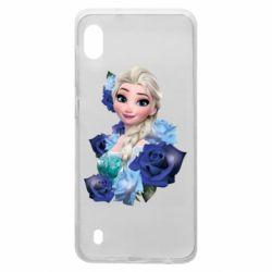 Чохол для Samsung A10 Elsa and roses