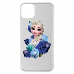 Чохол для iPhone 11 Pro Max Elsa and roses