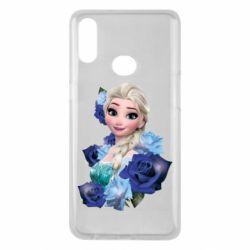 Чохол для Samsung A10s Elsa and roses