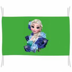 Прапор Elsa and roses