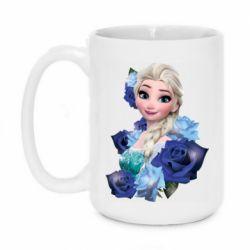 Кружка 420ml Elsa and roses