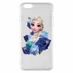 Чохол для iPhone 6 Plus/6S Plus Elsa and roses