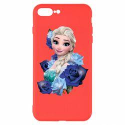 Чохол для iPhone 7 Plus Elsa and roses