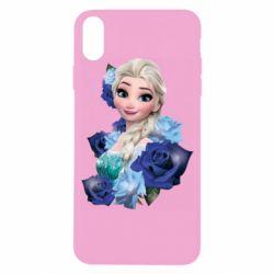 Чохол для iPhone X/Xs Elsa and roses