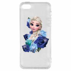 Чохол для iPhone 5 Elsa and roses