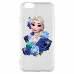 Чохол для iPhone 6 Elsa and roses
