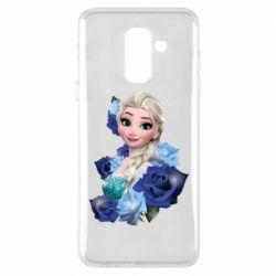 Чохол для Samsung A6+ 2018 Elsa and roses