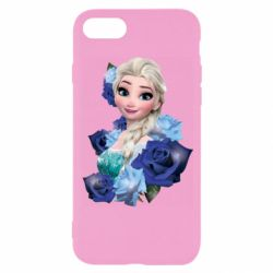 Чохол для iPhone 8 Elsa and roses