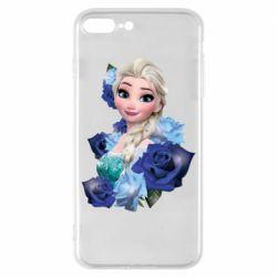 Чохол для iPhone 8 Plus Elsa and roses