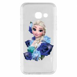 Чохол для Samsung A3 2017 Elsa and roses
