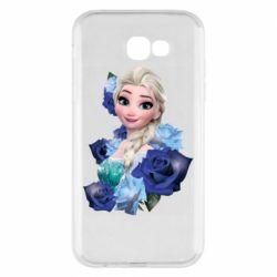 Чохол для Samsung A7 2017 Elsa and roses