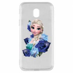Чохол для Samsung J3 2017 Elsa and roses