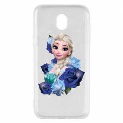 Чохол для Samsung J5 2017 Elsa and roses