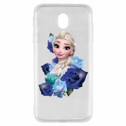 Чохол для Samsung J7 2017 Elsa and roses