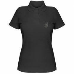 Жіноча футболка поло Emblem  16
