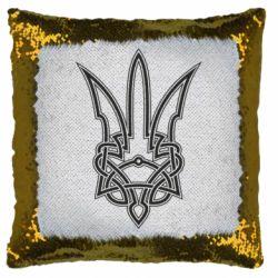 Подушка-хамелеон Emblem 18