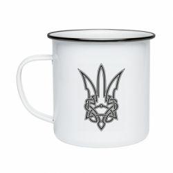 Кружка емальована Emblem 18
