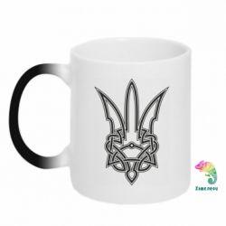 Кружка-хамелеон Emblem 18