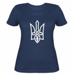 Женская футболка Emblem 22