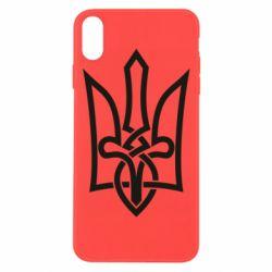 Чехол для iPhone Xs Max Emblem 22