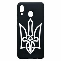 Чехол для Samsung A20 Emblem 22