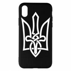 Чехол для iPhone X/Xs Emblem 22