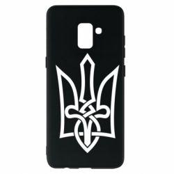 Чехол для Samsung A8+ 2018 Emblem 22