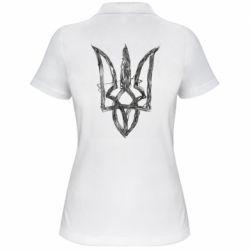 Жіноча футболка поло Emblem 7
