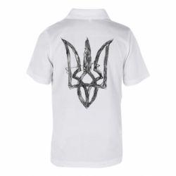 Дитяча футболка поло Emblem 7