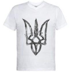 Чоловіча футболка з V-подібним вирізом Emblem 7