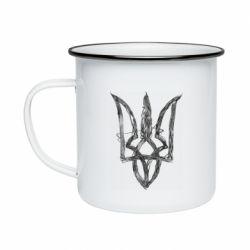 Кружка емальована Emblem 7
