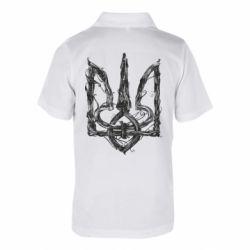 Дитяча футболка поло Emblem 8