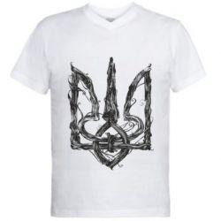 Чоловіча футболка з V-подібним вирізом Emblem 8